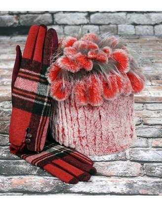 Gants en laine et tuque