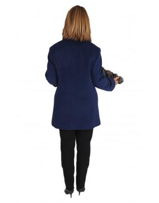 Laine et angora bleu style MAL3909 J11