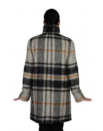 Laine gris/noir style MA 4544