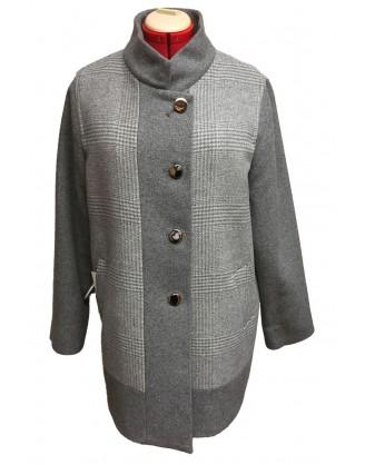 Mallia 4734 laine grise et prince de galles