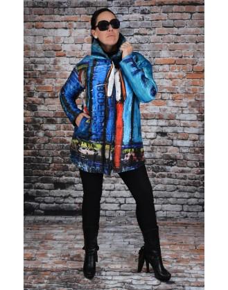 Jacket reversible UBU style F18208