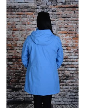 Coupe vent bleu pâle Luhta style Hoikko
